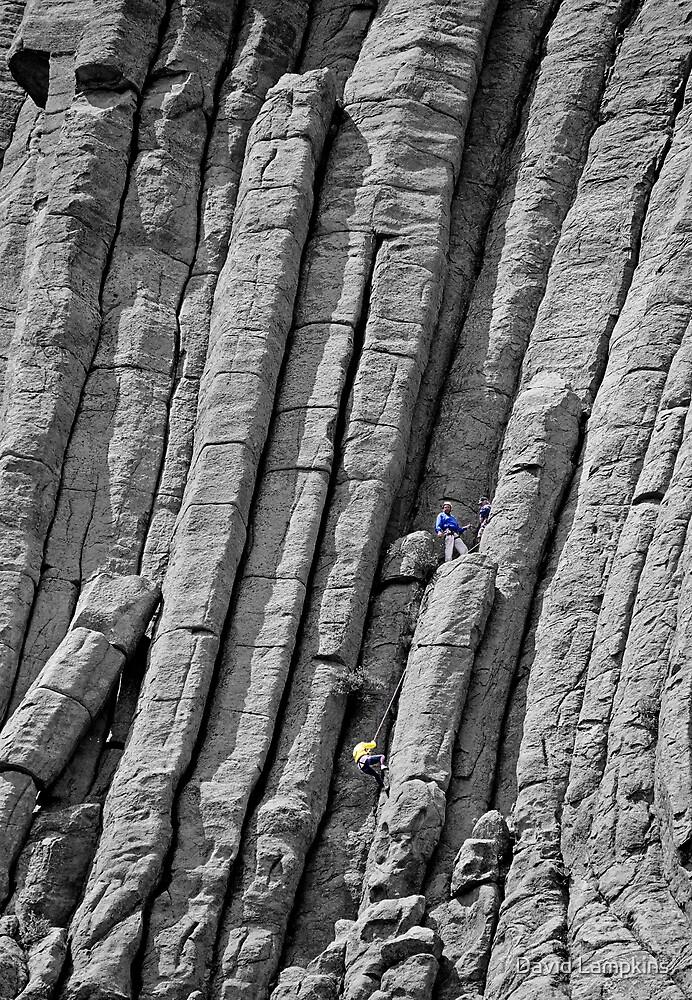Tower Climb by David Lampkins