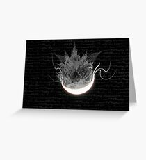 Darkside of The Moon Greeting Card
