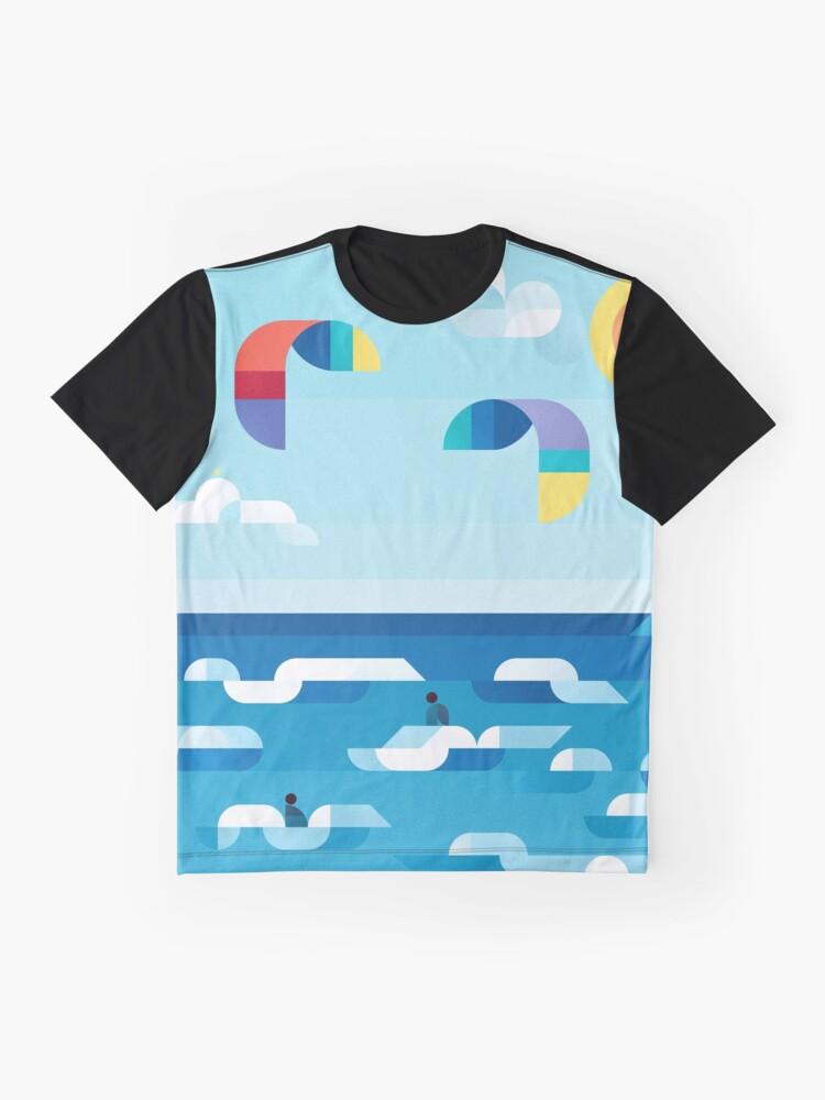 Alternate view of Kites dance Graphic T-Shirt