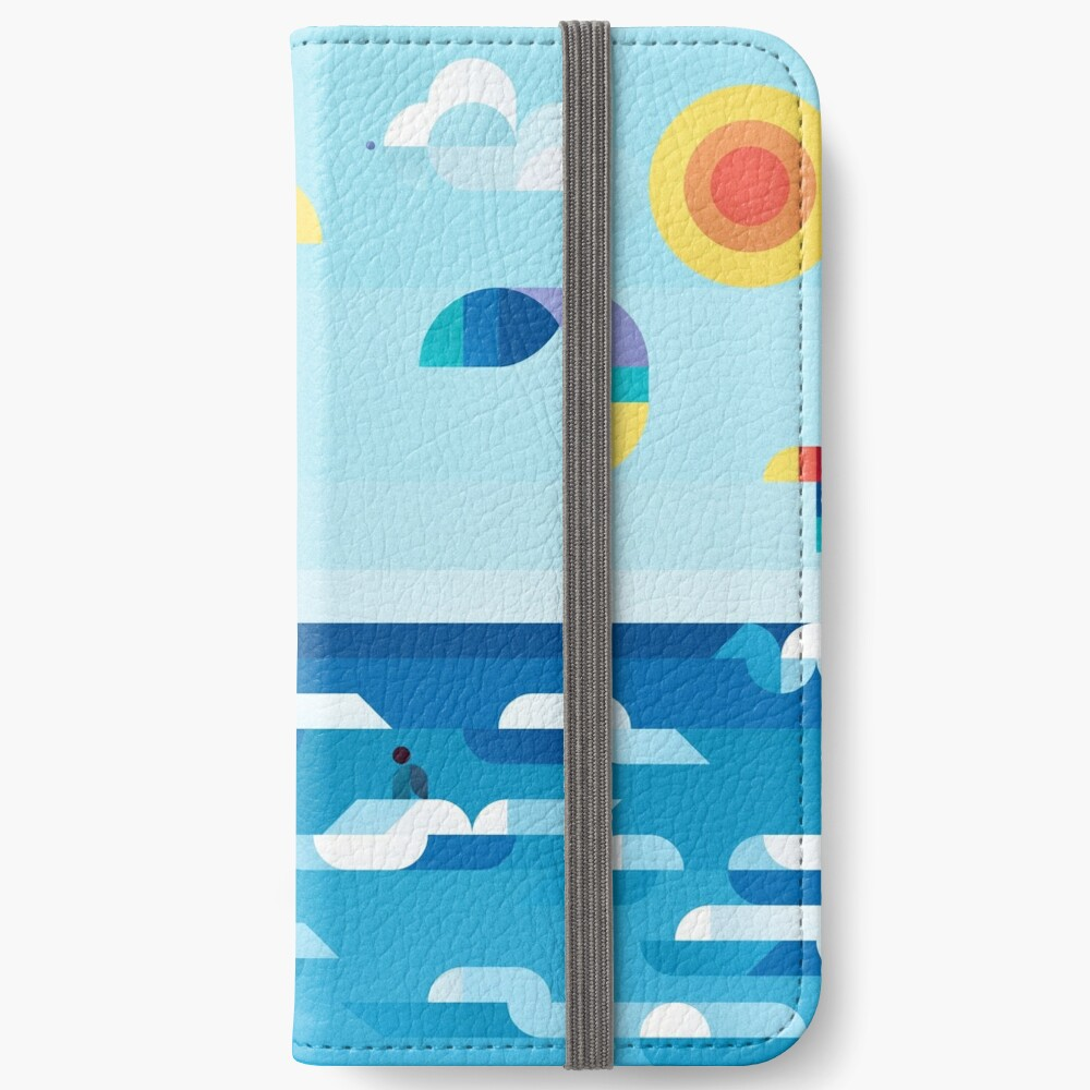 Kites dance iPhone Wallet