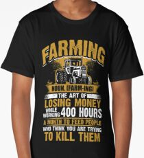 Farmer - Farming - Definition Long T-Shirt