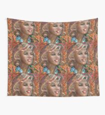 MM Ice Red Wall Tapestry