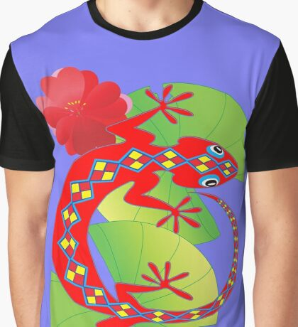 Connection to the Spirit World (Lizard)  Graphic T-Shirt