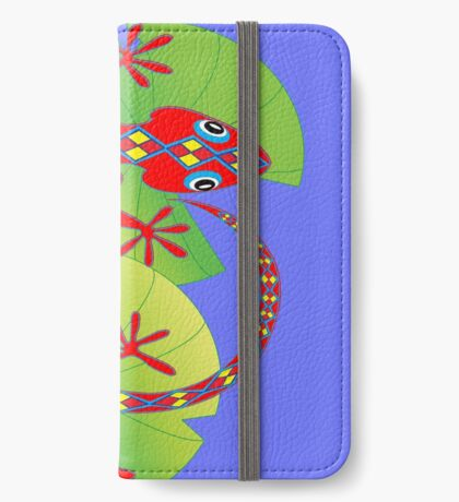 Connection to the Spirit World (Lizard)  iPhone Wallet