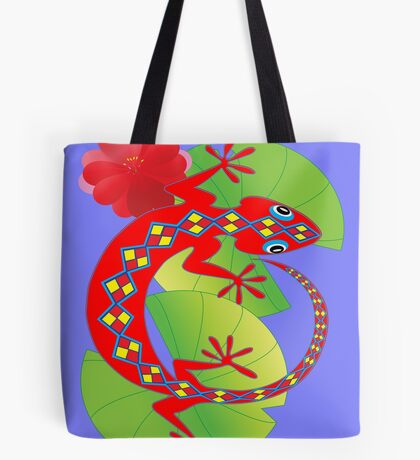 Connection to the Spirit World (Lizard)  Tote Bag
