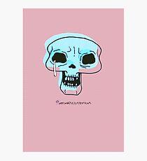 Skull Blink Photographic Print