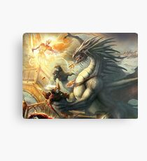 Dragon Final Metal Print