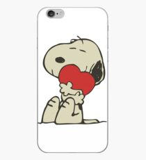 Snoopy love iPhone Case