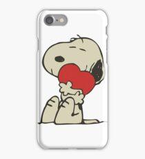 Snoopy love iPhone Case/Skin