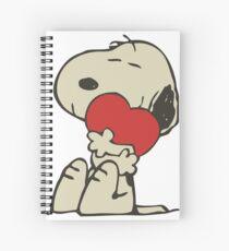 Snoopy love Spiral Notebook