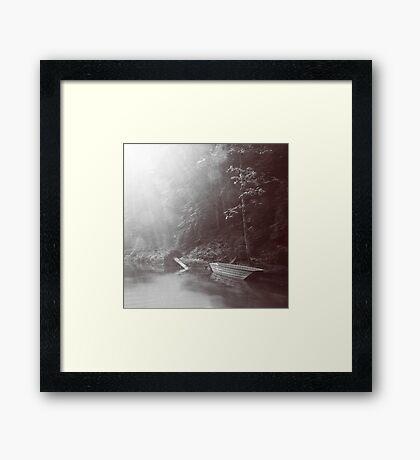 Rays of light Framed Print