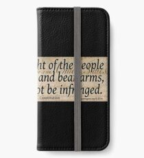The 2nd Amendment iPhone Wallet/Case/Skin