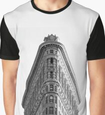New York Flat Iron Building Graphic T-Shirt