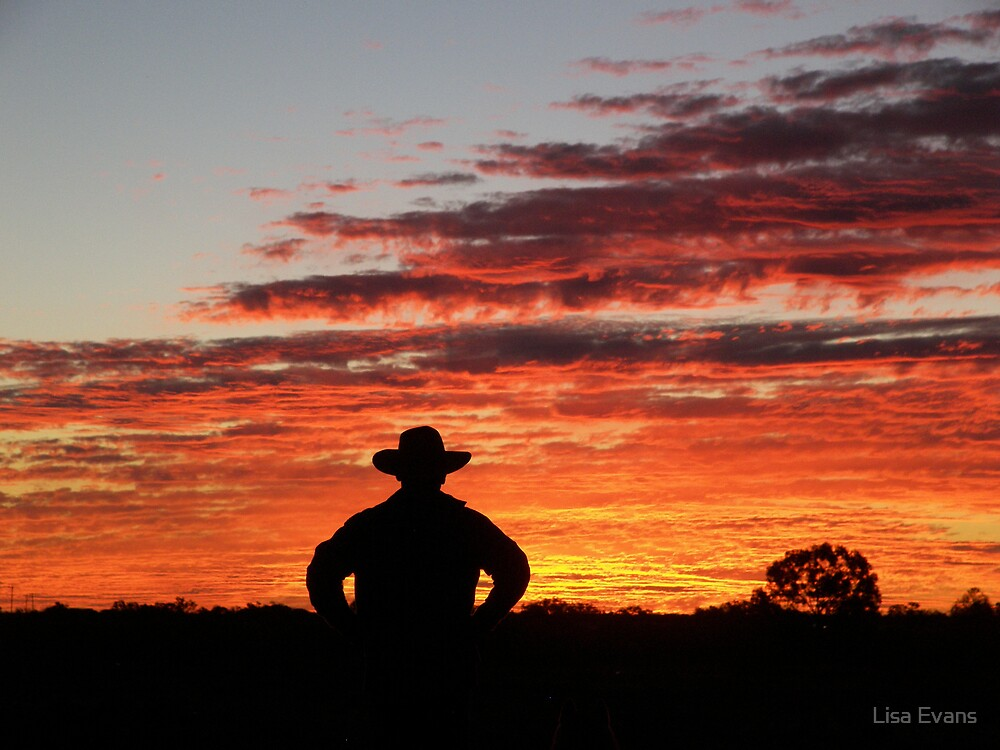 Waiting for Rain, Longreach Queensland by Lisa Evans