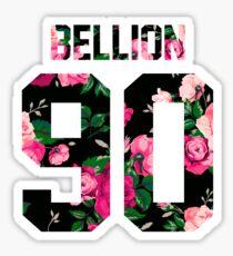 Jon Bellion - Colorful Flowers Sticker