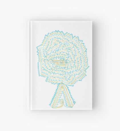 Azure & Gold Tree Hardcover Journal