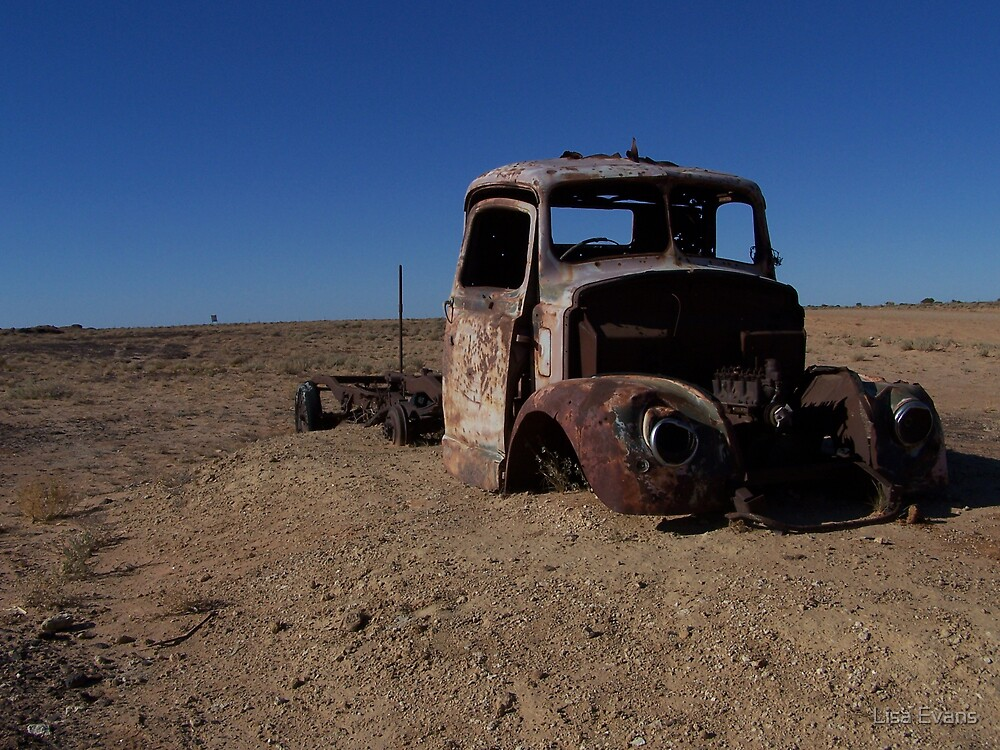 Old Truck, South Australia   by Lisa Evans