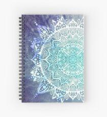 Ice Mandala Spiral Notebook