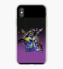 Masterpiece Soundwave and Cassettes iPhone Case