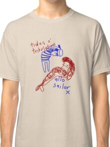 'Salutations from the Sea' Classic T-Shirt