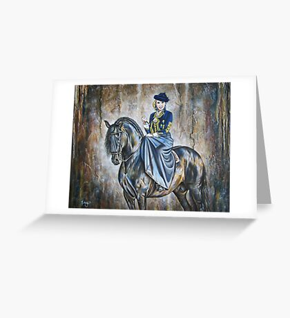 Poised For Success Greeting Card