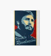 Fidel Castro Plakat Galeriedruck