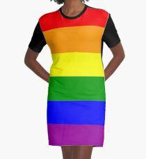 Vestido camiseta GAY, Orgullo Gay, Bandera del Arco Iris, LGBT, orgullo, bandera,