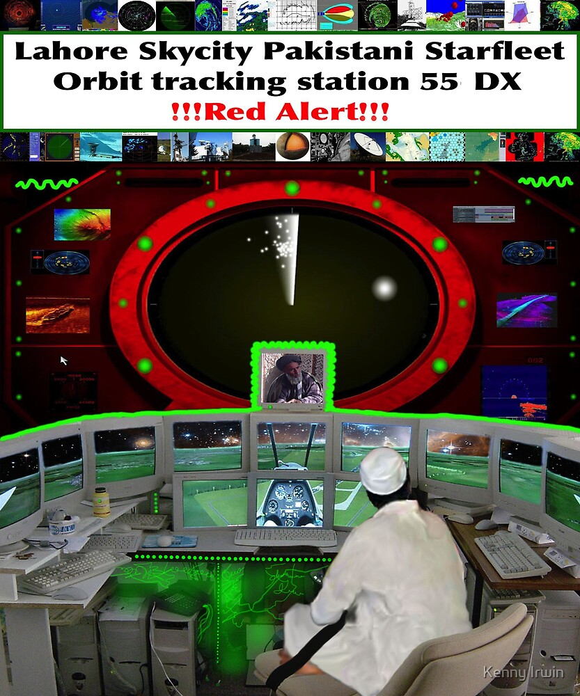 Lahore Skycity tracking station detects the Rogue Avian Fleet by Kenny Irwin