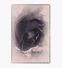 Poetic Photographic Print