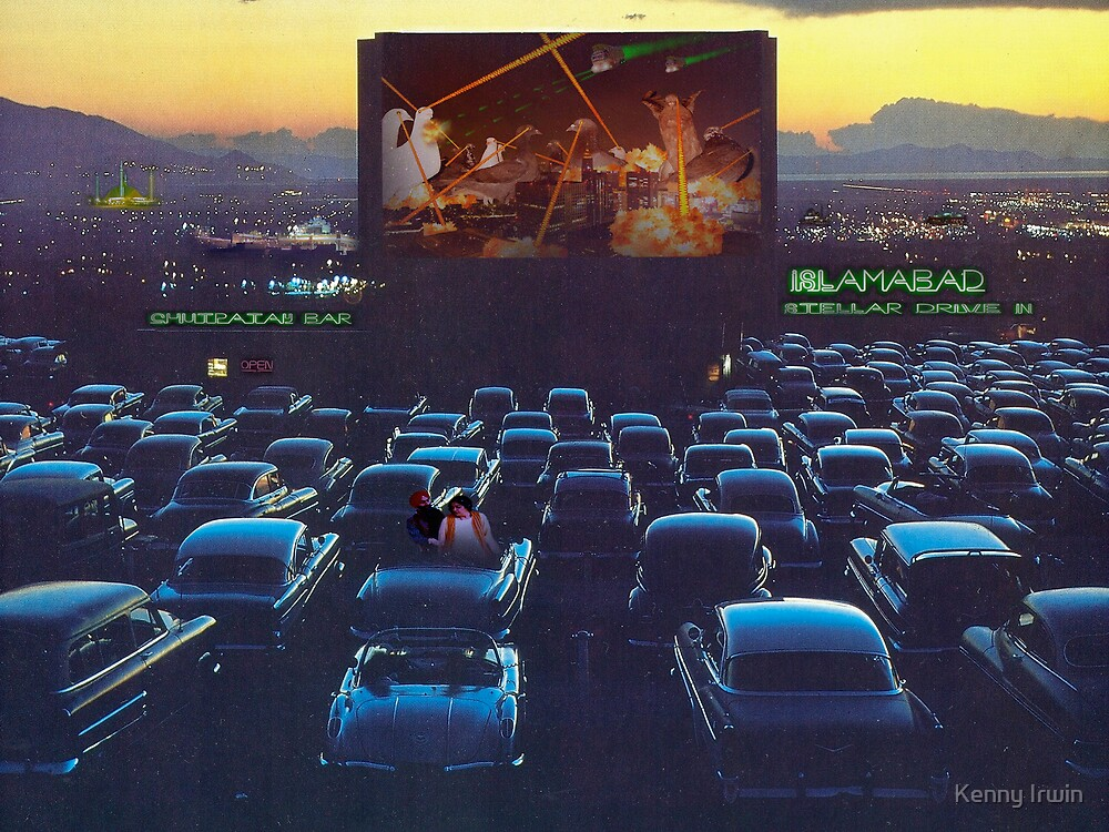 Islamabad Stellar Drive-in Lollywood Perfectlymadebirds Film Spectacular by Kenny Irwin