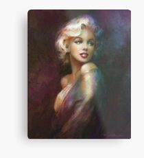 Theo Danella´s Marilyn WW colour Metal Print