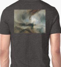 Turner, Snow Storm, Steam Boat off a Harbour's Mouth, 1842 T-Shirt