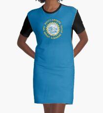 Flag of South Dakota Graphic T-Shirt Dress