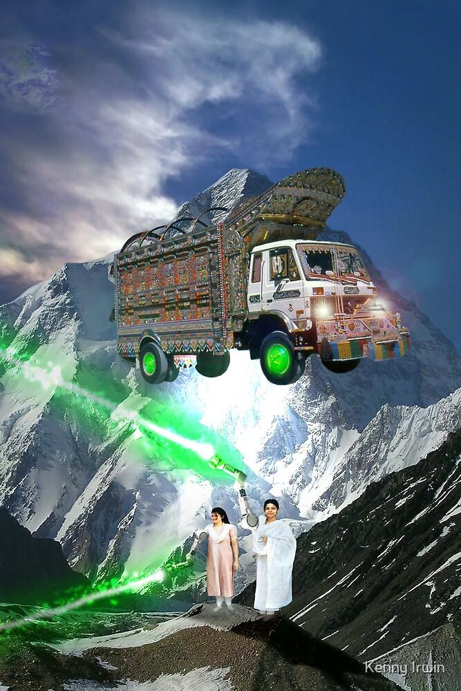 Pakistani Cyborg Desi Power by Kenny Irwin
