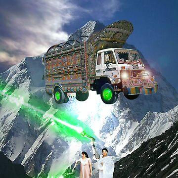 Pakistani Cyborg Desi Power by Dovetastic