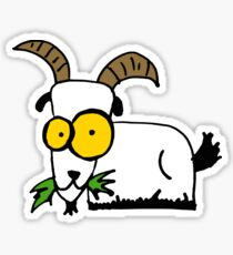 funny goat Sticker