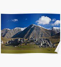 1029 Mountain Scene  Poster