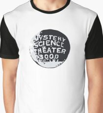 MST3K Silhouette within Globe Graphic T-Shirt