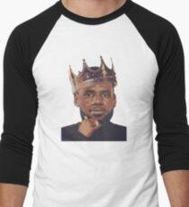 King Lebron James Men's Baseball ¾ T-Shirt
