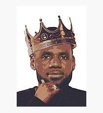 King Lebron James Photographic Print