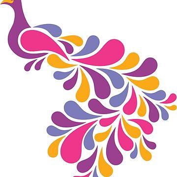 Retro Birds by Lisann