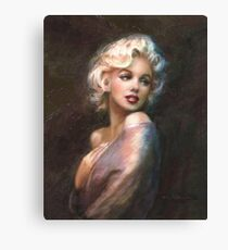Marilyn WW Romantic Soft Canvas Print