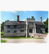 Baddesley Clinton, from the front. Poster
