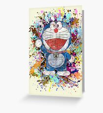 Doraemon Full Colors  Greeting Card