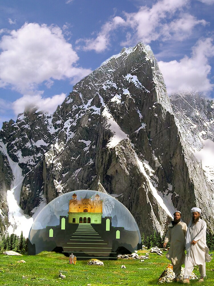 Kalam Valley Cosmic Mahal Dome by Kenny Irwin