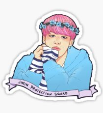 Jimin Protection Squad Sticker