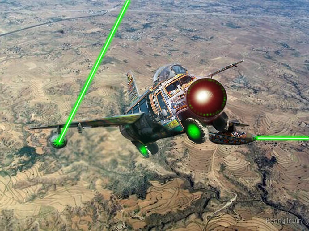 Testing the new Pakistani Mirage Bedford Starfighter out by Kenny Irwin