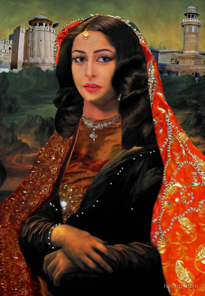 The Pakistani Mona Lisa [The Mina Lidalila] by Kenny Irwin