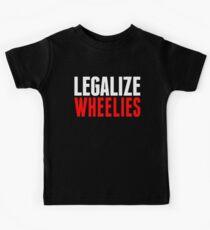 Legalize Wheelies Kids Tee