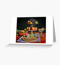 Still Life  {fruit } Greeting Card
